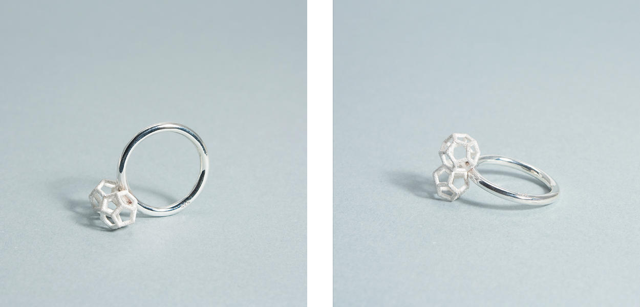 Double Dodecahedron ring