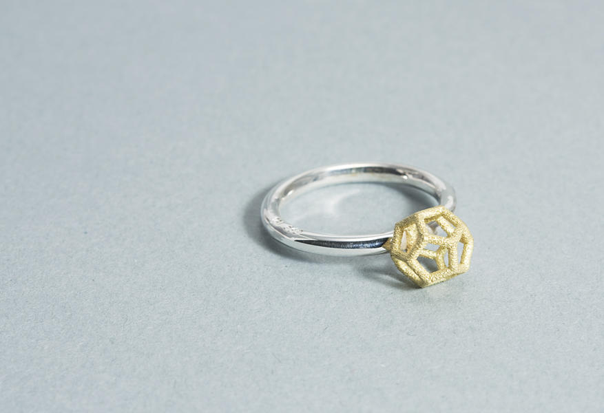 Dodecahedron Ring #2